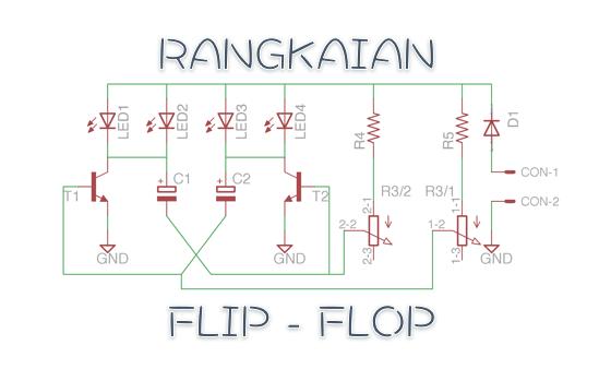 Rangkaian Flip Flop Versi Modifikasi