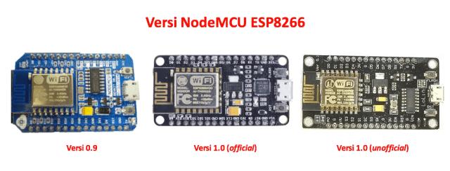 Versi NodeMCU ESP8266
