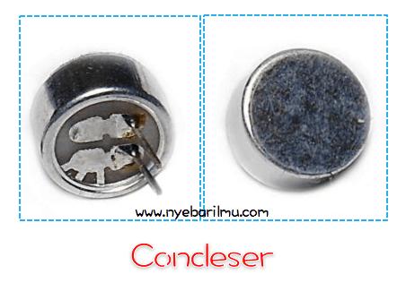 Condeser Sensor Suara