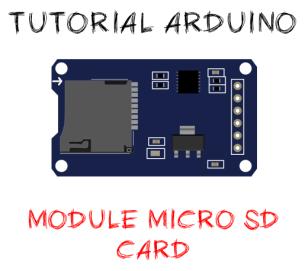 Module micro sd card