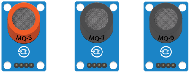 contoh variasi dari sensor gas MQ