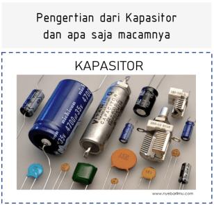 Kapasitor atau Capacitor adalah