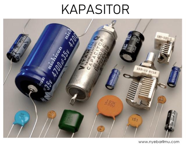 Kapasitor atau Capacitor