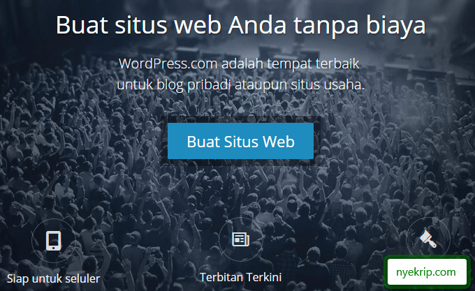 Cara_Membuat_Blog_di_Wordpress_halaman_depan_nyekrip