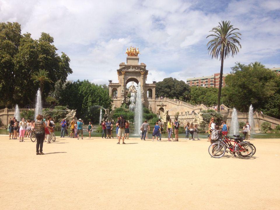 barcelona, parque ciutadella