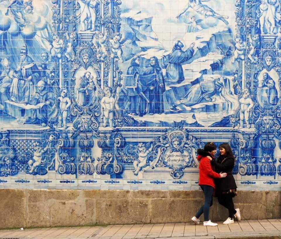 Oporto, azulejos