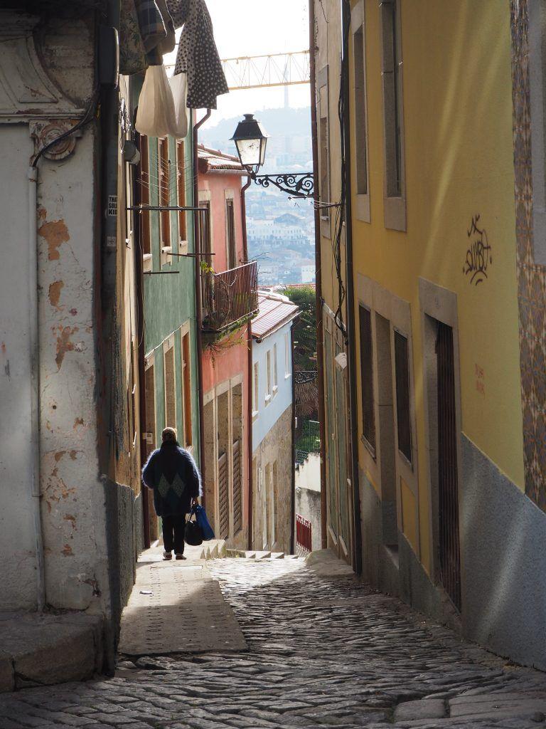 Oporto, calles