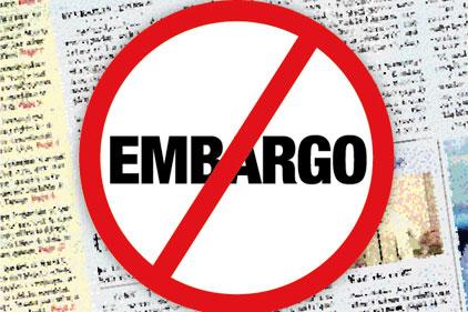 Stop al embargo