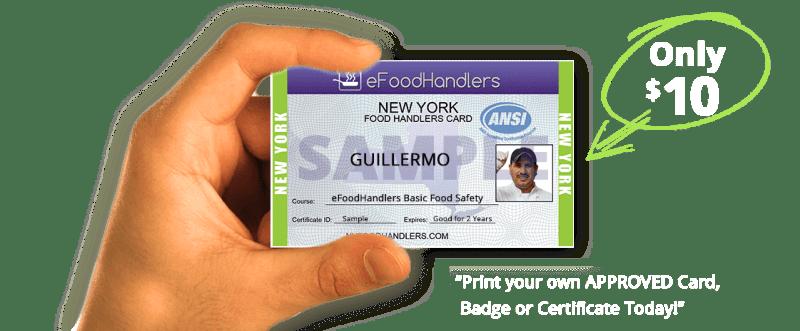 Get My Food Handlers Card Online