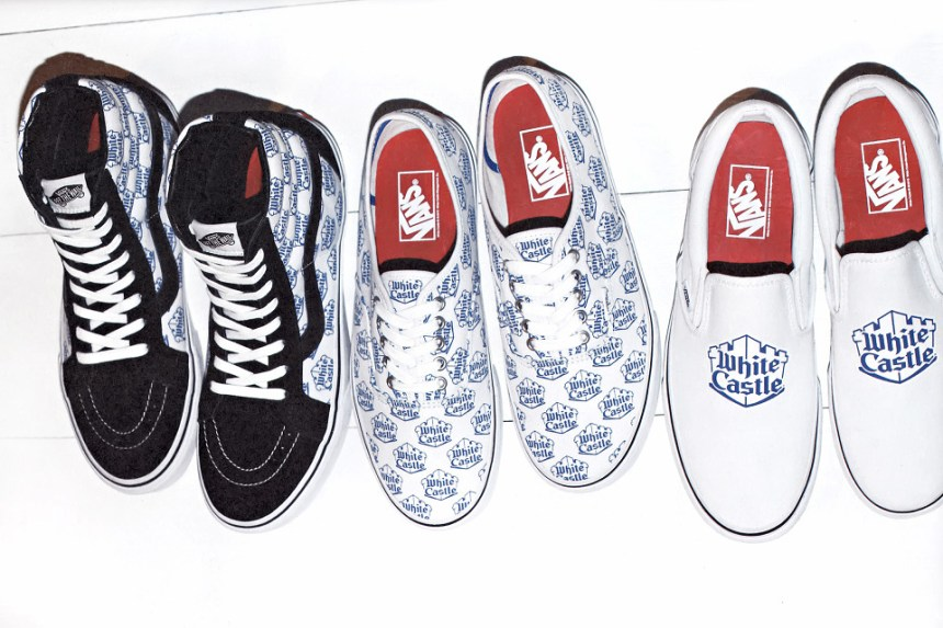 Supreme x Vans x White Castle 2015 Collection Preview