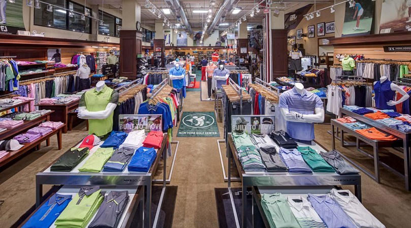 New York City Golf Stores   NYC s Premier Golf Shops   NYGC First Floor Apparel Are