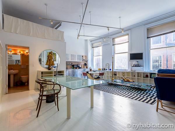 New York Apartment Alcove Studio Loft Duplex Apartment