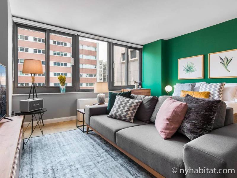 Appartements      New York  locations meubl    es      New York New York   Studio T1 logement location appartement   Appartement r    f    rence