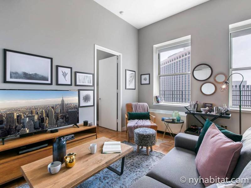 Appartements      New York  locations meubl    es      New York New York   T2 logement location appartement   Appartement r    f    rence
