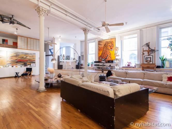 New York Apartment 3 Bedroom Loft Duplex Al