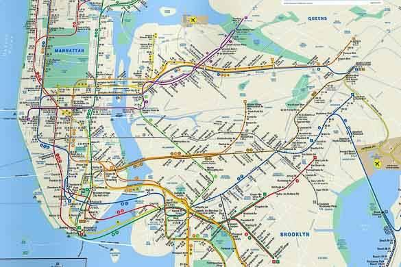 Resultado de imagen de metro de nueva york