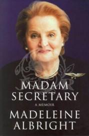 USA's Utenriksminister Madeleine Albright
