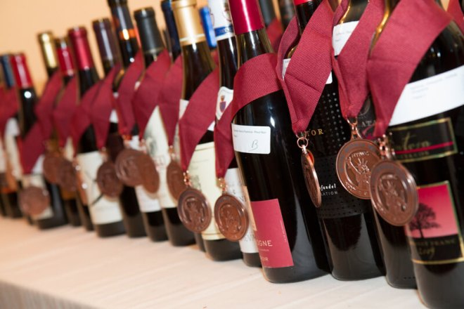 winning wines with medals