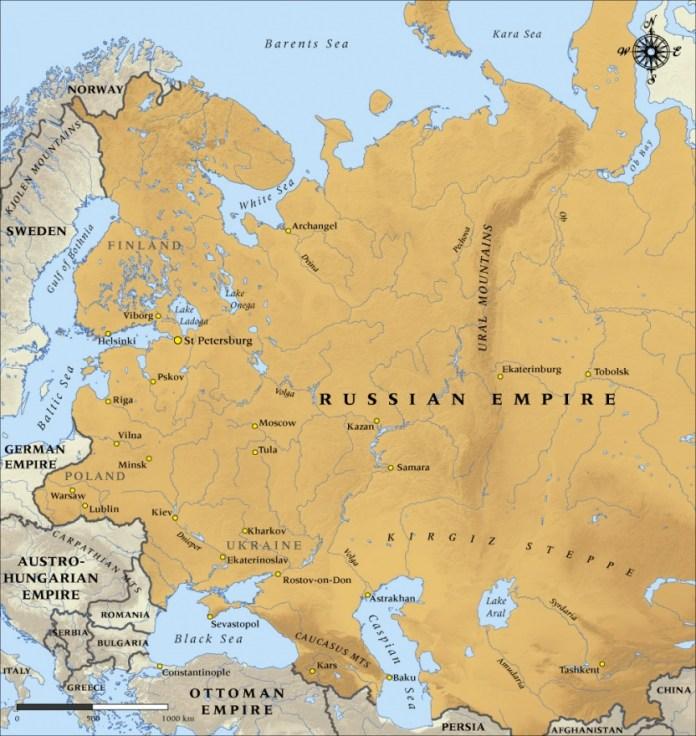 Venäjä vuonna 1914, Nikolai II:n kaudella