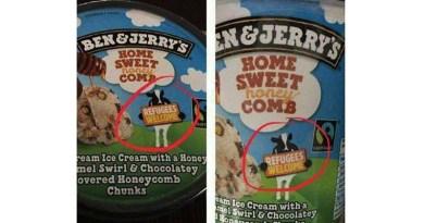 Jäätelölläkin tehdään jo politiikkaa: Ben & Jerry's toivottaa pakolaiset tervetulleiksi