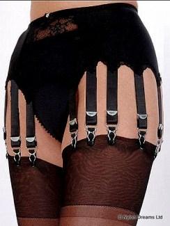 12 Strap Suspender Belts