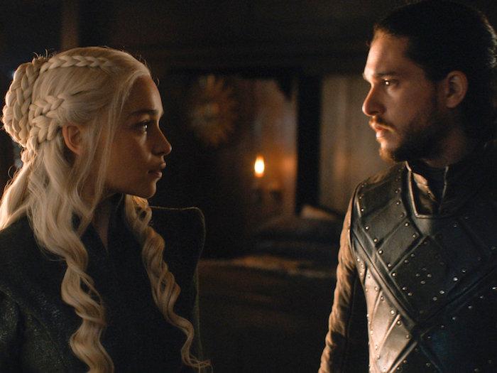 jon snow daenerys tagaryen game of thrones finale boat