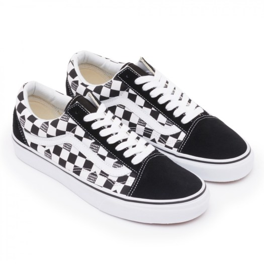 Vans x DSM Checkerboard / Available in-store and E-SHOP / Price: SGD109 (Old Skool; low cut), SGD119 (SK8-Hi; high cut)