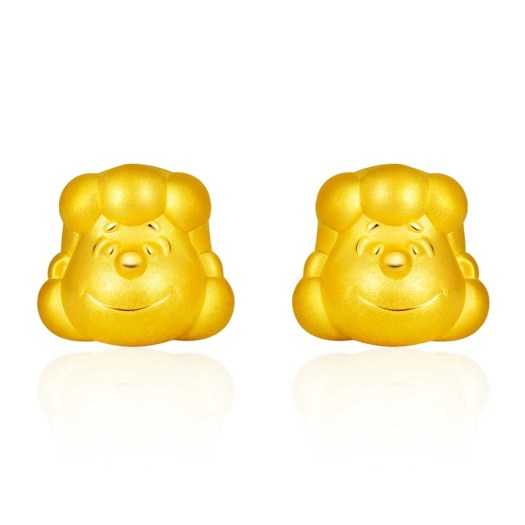 999 Pure Gold Lucy Earrings (S$399)