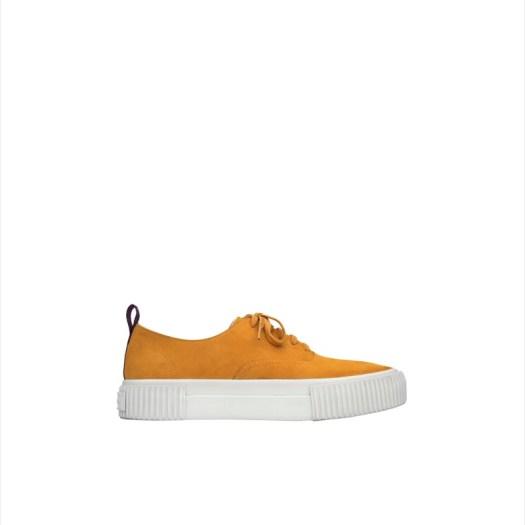 Suede Sneaker (Yellow), $139