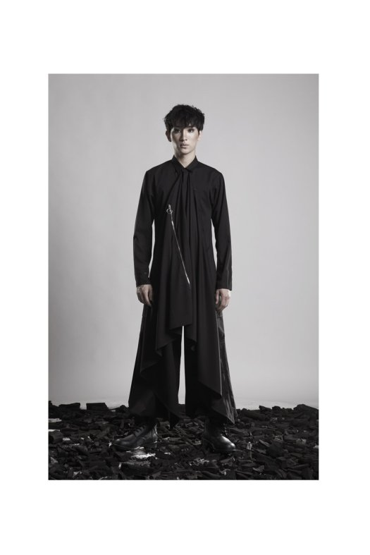 DEPRESSION Transformation Drape Shirt, $225