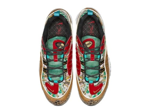 Air Max 98 CNY Top View