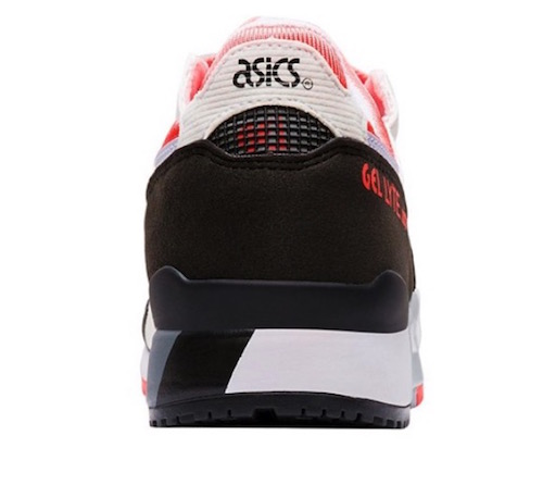 ASICS Gel-Lyte III Women in White/Flash Coral $159