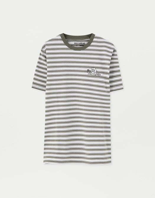 Finn Wolfhard Striped T-Shirt, $29.90