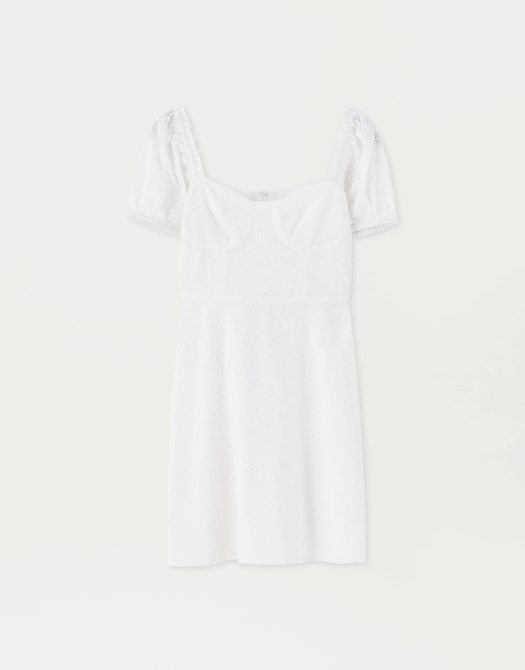 Sadie Sink White Dress, $59.90