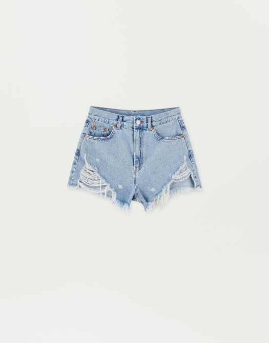 Sadie Sink Denim Shorts, $45.90