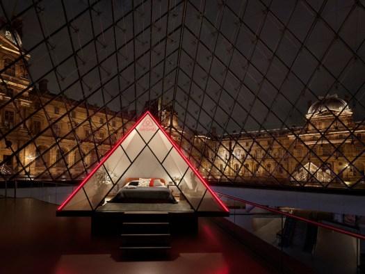 Bedroom Under Pyramid