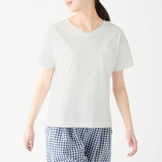 Ladies' Organic Cotton Uneven Yarn Wide T-shirt, Less 10% (U.P. $19.90)