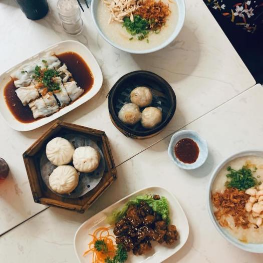 halal breakfast cafes