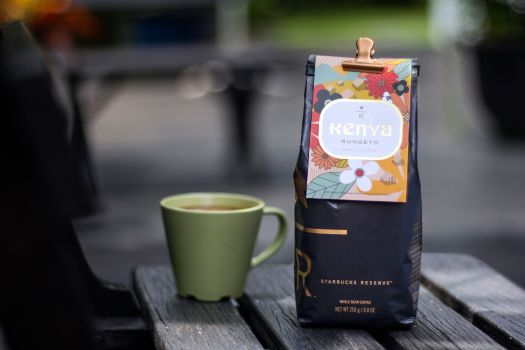 Kenya Rungeto ($31.00/250g), only available at Starbucks Reserve™ stores
