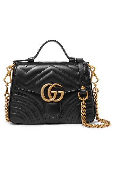 GUCCI Marmont mini quilted leather shoulder bag, US$1,980