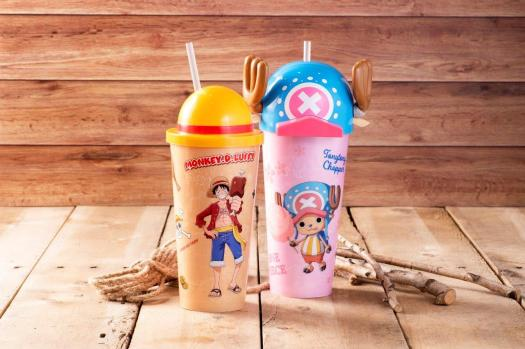 Luffy Chopper Themed Topper Cup