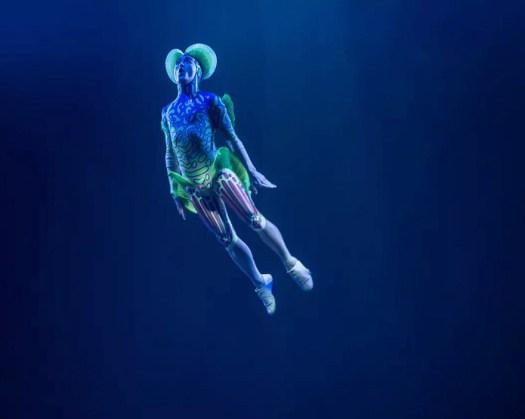 Acro Net (Photo Courtesy: Cirque du Soleil)