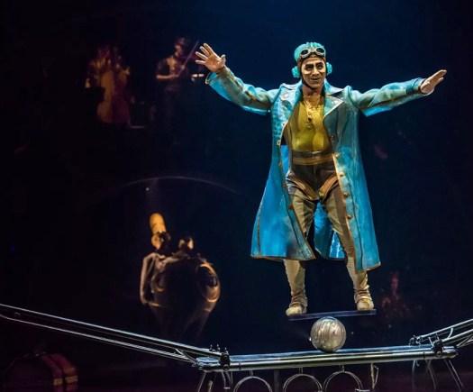Rola Bola (Photo Courtesy: Cirque du Soleil)