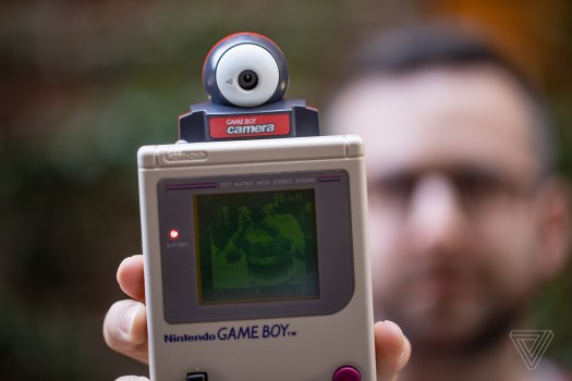 Camera attachment for the Gameboy via The Verge