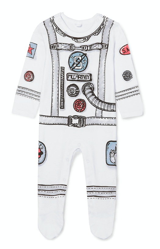 Spaceman Cotton Playsuit, US$93