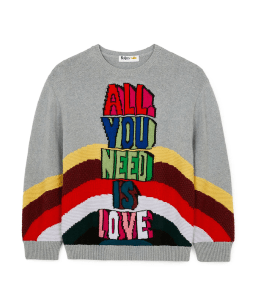 All You Need Is Love Sweater, US$1,090