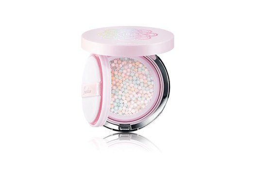 Guerlain Météorites Glow Pearls Cushion Colour Correction Tone-up Base Face Primer, $80. Available at Sephora