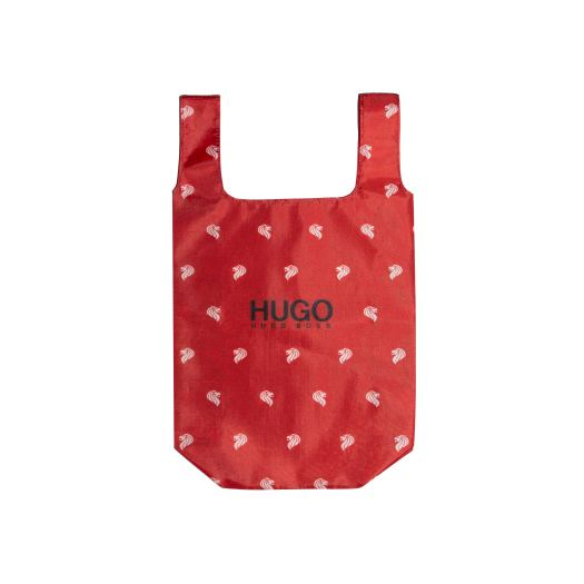 HUGO Merlion Tote (redeemable with every purchase of HUGO Merlion T-Shirt). Available at HUGO.