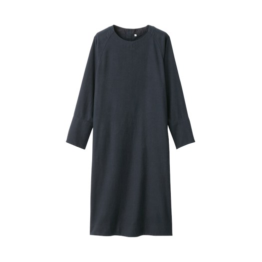 Xinjiang Cotton Flannel Pullover Dress, $59. Available in 3 colours.