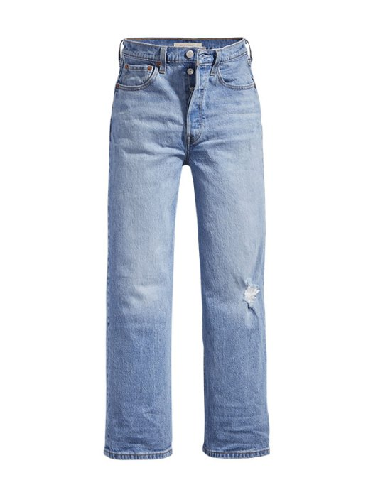 Ribcage Straight Ankle Jeans, $139.90